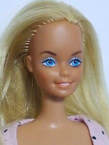 Mattel Smiling Barbie Doll 70s Vintage Blonde Blue Eyes Super Cute
