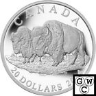 2014 The Bison-The Bull & His Mate Proof $20 Silver Coin 1oz .9999 Fine (13862)