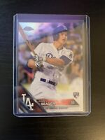 2016 Topps Chrome Corey Seager REFRACTOR #150 Holo Rookie RC NLCS MVP Dodgers LA