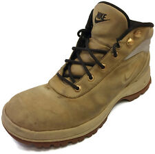 Nike Boots Mandara Antique White/Wheat 333667 721 Leather Shoes US Mens Size 8.5