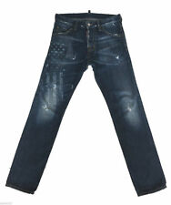 Dsquared2 Cotton Mid Rise Skinny, Slim Jeans for Men
