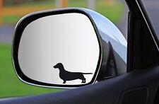 2x, 4x, 6x Silhouetten-AUFKLEBER DACKEL sticker Fensteraufkleber Autoaufkleber