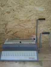 Renz SRW 360 manual wire punching and binding machine