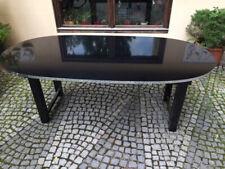 Art Deco Esstisch schwarz lackiert 200 x 100cm - München