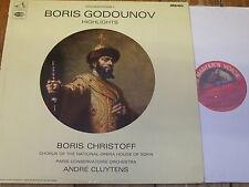 ASD 2257 Mussorgsky Boris Godunov (highlights) / Christoff / Cluytens S/C