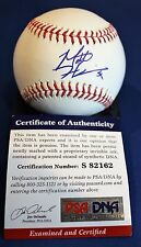 Autographed Matt Harrison Official Rawlings Major League Baseball with PSA COA