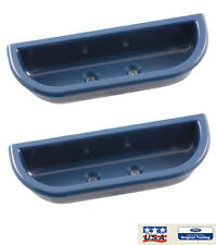 1973-79 Ford Truck F100 F150 F250 & 78-79 Bronco Front Blue Door Handle Cup Set