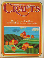 The Complete Encyclopedia of Crafts Book Volume 2 ~ 1975 - Do-It-Yourself Guide
