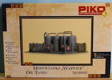 Piko 60012, Spur N, Bausatz Heizöltanks (Kunststoff) / Oil Tanks Warwick