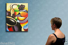 """39"""" - JAZZ  _____________ ORIGINAL oil on canvas painting by IOV !!!!!!"""