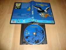 EL TEMPLO DEL SOL LAS AVENTURAS DE TINTIN DE HERGÉ VERSION EN DVD USADA