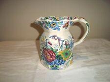 More details for masons strathmore regency style jug vase cream floral