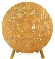 Médaille Esso à Guy Lecomte l'extraction du pétrole Carbonnier d'ap Lieber Medal