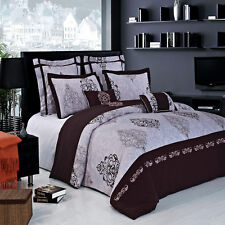 Luxurious Gizelle 100% Egyptian Cotton Bed in a Bag Set- 2 Sizes