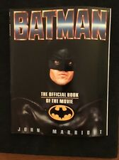 Batman : Official Book of the Movie by John Marriott (1989, Paperback) Mancave