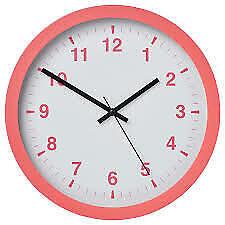 "IKEA Tjalla Wall Clock Size 11"" -204.691.00  FREE SHIPPING"