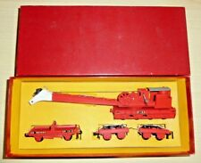 00 Gauge Model Railway  Hornby Dublo OO Gauge 4620 Breakdown Crane Red Box