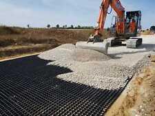 RESIN GRAVEL DRIVES PLASTIC REINFORCEMENT GRIDS PATHWAY & PARKING SUPPORT GRID