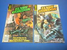 FLASH GORDON #20 and #22 GOLD KEY Comics 1978 lot