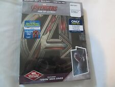 FACTORY SEALED Avengers: Age of Ultron 3D Steelbook Best Buy(Vision)3D+bluray+HD