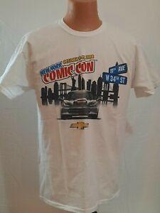 Retro Size Large COMIC CON T-Shirt  New York City October 9-12 2014