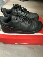 Nike Court Borough Low 2 Trainers Black Size UK 5.5 Unisex
