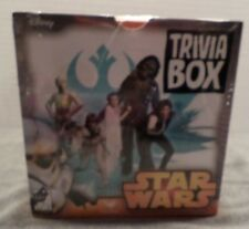 NEW Star Wars Trivia Box Game Chewbacca Yoda Luke Questions and Answer PARTY