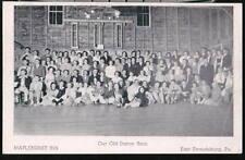STROUDSBURG PA Maplehurst Inn Dance Barn Vtg Postcard