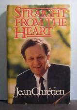 Jean Chretien Signed, Straight from the Heart