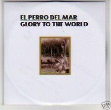 (B759) El Perro del Mar, Glory to the World - DJ CD