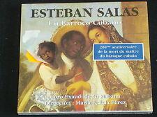 ESTEBAN SALAS Un barroco cubano CD NEUF