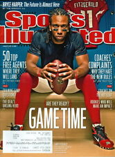 2011 Sports Illustrated: Larry Fitzgerald - Cardinals/Bryce Harper Article
