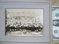 Great 1910 Antique TOWN BASEBALL TEAM PHOTO, Maynard, Massachusetts, Equipment