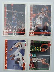 Lot de 3 Cartes Basketball NBA Hoops 92/93 Cleveland Cavaliers + 1 Drazen...