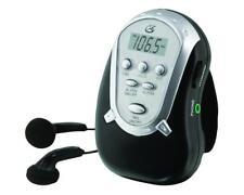 GPX R300 AM/FM Armband Radio, Black