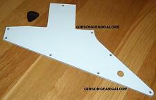 Gibson Explorer Pickguard White Genuine 4 Ply Guitar Parts Custom Shop Studio T