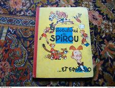 Spirou et Fantasio Franquin 4 aventures de 1956 édition originale française eo