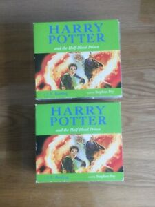 Harry Potter and the Half Blood Prince Audio Book on 17 CDs read by Stephen Fry