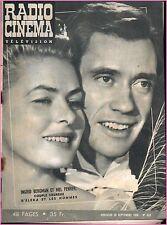 ▬►RADIO CINÉMA TÉLÉVISION 350 (1956) INGRID BERGMAN_MEL FERRER_LUIS BUNUEL