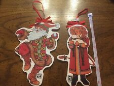 Set of Two, Mary Engelbreit Christmas Tree Ornaments