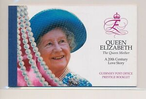 LO38008 Guernsey the queen mother prestige booklet MNH