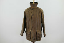 BARBOUR Classic Moorland Brown Wax Jacket size C38 97Cm