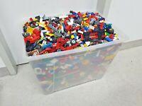 LEGO Konvolut 18,0 kg Kiloware Sammlung Steine Platten Sonderteile Kilo Bulk #13