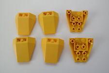 6 Lego 4855 Schrägsteine Keilsteine 4x4 gelb Star Wars