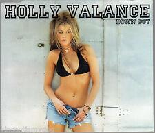 HOLLY VALANCE - DOWN BOY (3 tracks plus cd-rom video, CD single)