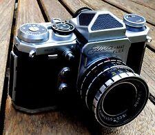 Vintage Rare c.1958-60 WIRGIN EDIXA Flex Caméra 35 mm + étui fonctionnel