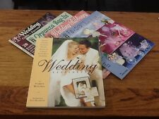 WEDDING CRAFT BOOKS LOT OF 5 GIFTS FAVORS BAGS RIBBON