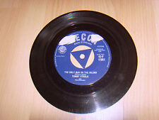 "7"" single vinyl I puts the lightie on, the only man on the Island Tommy Steele"