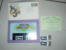 Vintage Stamps Australia Parliament House ACTU 77 First Day Issue & Sealed Set