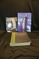 ARCHITECTURAL BUILDINGS and MODERN DESIGN BOOKS